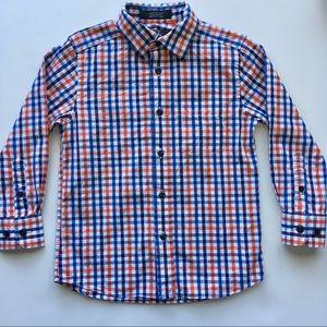 4T Nordstrom kids button up collared dress shirt